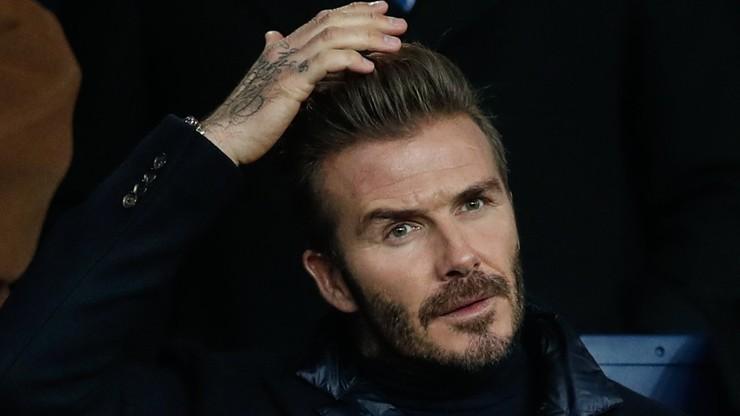 Tajemnica Beckhama wyszła na jaw