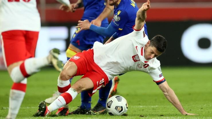 Anglia - Polska: Robert Lewandowski nie zagra w meczu!