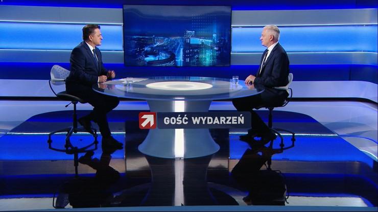 """Jarosław Gowin """"Gościem Wydarzeń"""". """"Nie da się stworzyć stabilnej większości bez Porozumienia"""""""