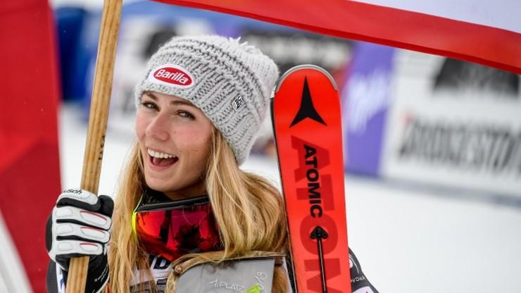 Mała Kryształowa Kula w slalomie dla Shiffrin
