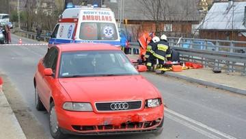 9-latek na quadzie zderzył się z samochodem osobowym w Małopolsce. Dziecko jest w szpitalu
