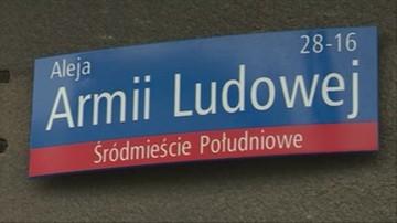 """NSZZ """"Solidarność"""" apeluje o nieprzywracanie nazw ulic """"propagujących komunizm"""""""