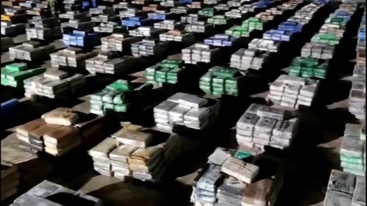 Kolumbia. Rekordowy przemyt kokainy. Przejęto ponad 5 ton o wartości 200 mln dolarów
