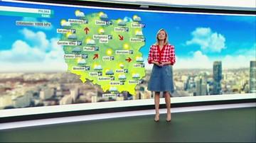 Prognoza pogody - wtorek, 21 września - rano