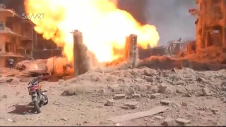 Już 44 zabitych w zamachu bombowym w Al-Kamiszli w Syrii