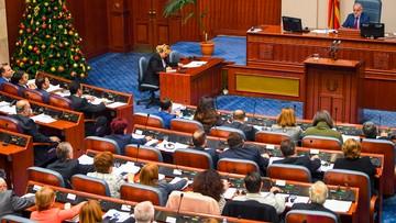 Macedonia uchwaliła poprawkę do konstytucji zmieniającą nazwę państwa