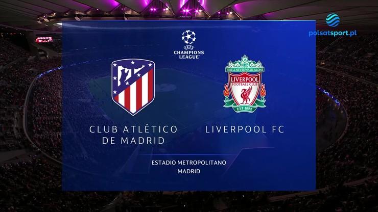 Atletico Madryt - Liverpool FC. Skrót meczu