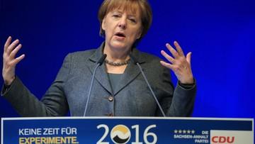 Merkel prosi Niemców o cierpliwość w sprawie imigrantów