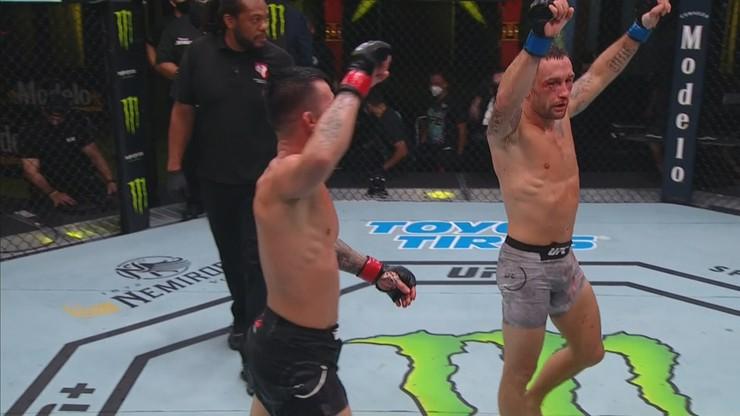 UFC Fight Night: Frankie Edgar pokonał Pedro Munhoza po niezwykle zaciętym pojedynku
