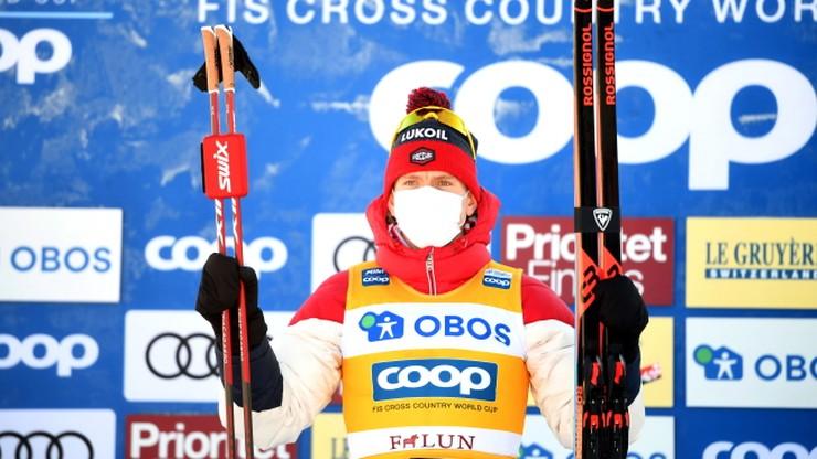 PŚ w biegach: Kolejne zwycięstwo Aleksandra Bolszunowa w Falun