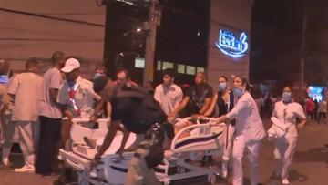 Pożar szpitala w Rio de Janeiro. Zginęło co najmniej 10 osób