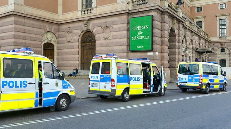 Atak nożownika w Sztokholmie. Ranny policjant trafił do szpitala