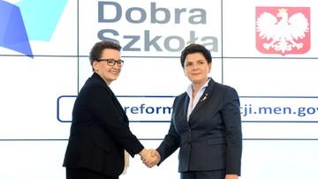 Szydło: to reforma edukacji, której potrzebuje polska szkoła