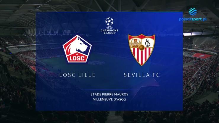 OSC Lille - Sevilla. Skrót meczu