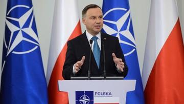 W Belwederze spotkanie prezydenta z sekretarzem generalnym NATO