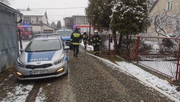 Pożar domu w Ligocie. Seniorka zginęła w płomieniach
