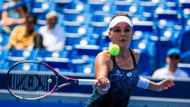WTA w New Haven: Radwańska odpadła w 1. rundzie