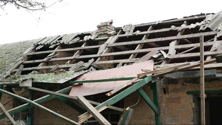 Ukraina: ostrzelano szkołę i szpital. Ranni cywile