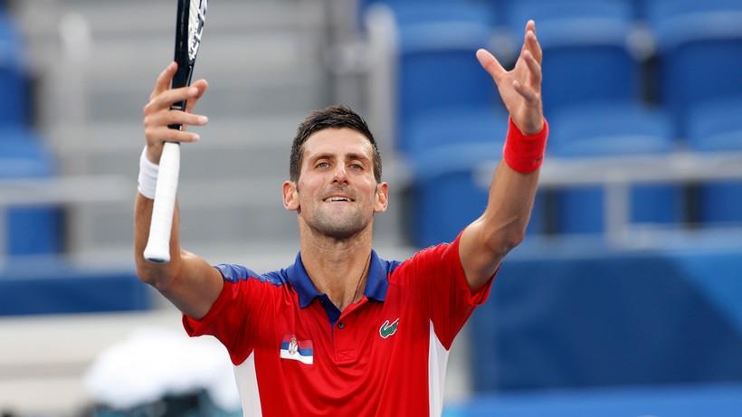 Tokio 2020: Novak Djokovic z awansem do półfinału