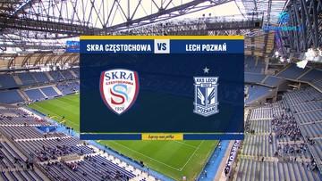 Skra Częstochowa - Lech Poznań 0:3. Skrót meczu
