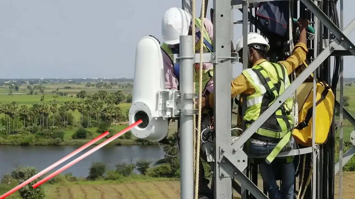 Google testuje laserowy Internet. Prędkość 20 Gb/s z dostępnością 99,9%