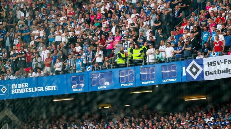 Słynny zegar na stadionie w Hamburgu został przestawiony