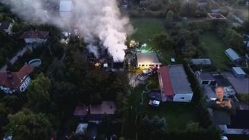 Wybuch gazu w domu koło Łodzi. Strażacy odnaleźli ciała dwóch mężczyzn