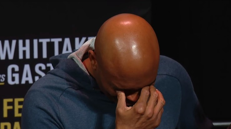 UFC 234: Wyniki ważenia. Łzy wzruszenia Silvy