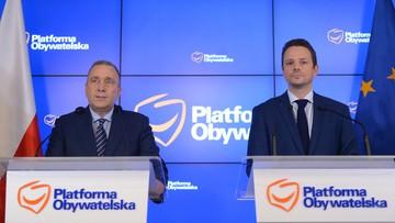 Schetyna: chcę, żeby Trzaskowski był kandydatem PO i zjednoczonej opozycji na prezydenta Warszawy