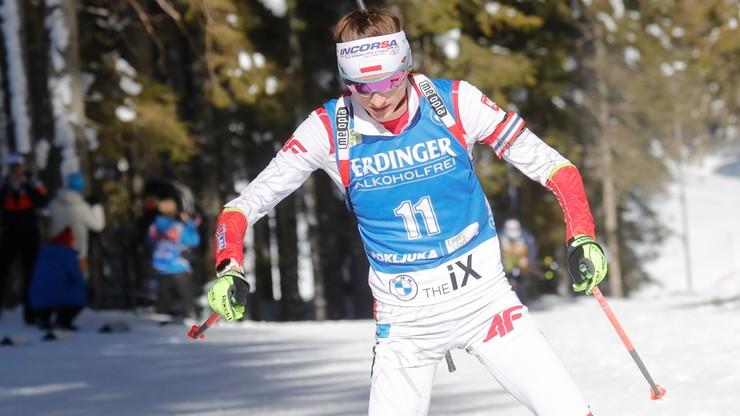 MŚ w biathlonie: Szesnaste miejsce Hojnisz-Staręgi w biegu indywidualnym