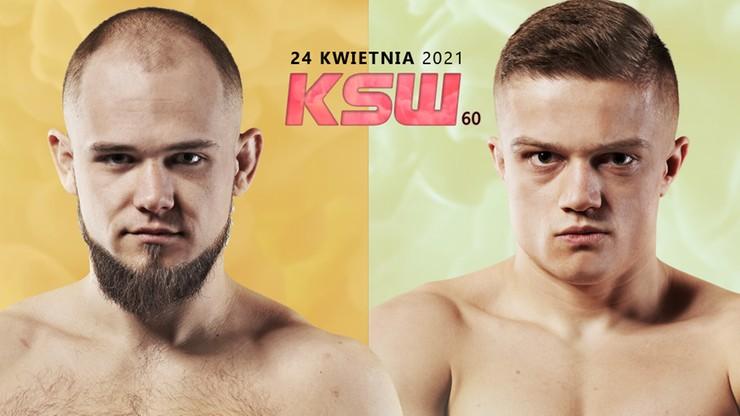 KSW 60: Patryk Kaczmarczyk kontra Michał Sobiech w karcie walk