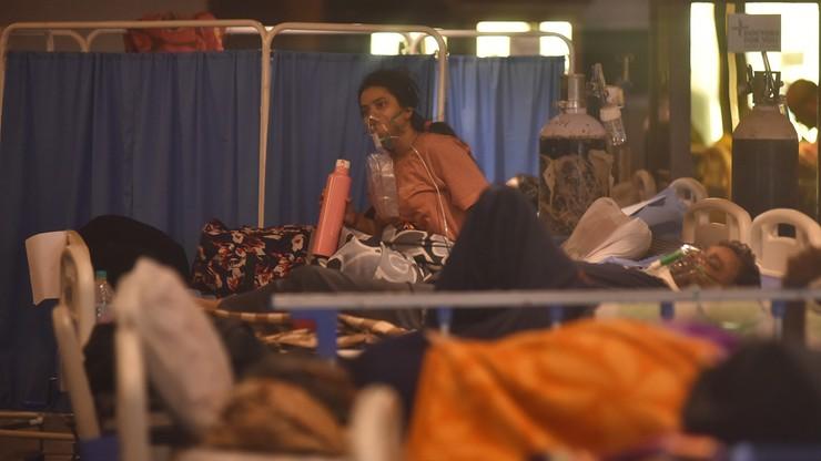 Koronawirus w Indiach. Twitter usuwa treści krytykujące tamtejszy rząd za walkę z pandemią