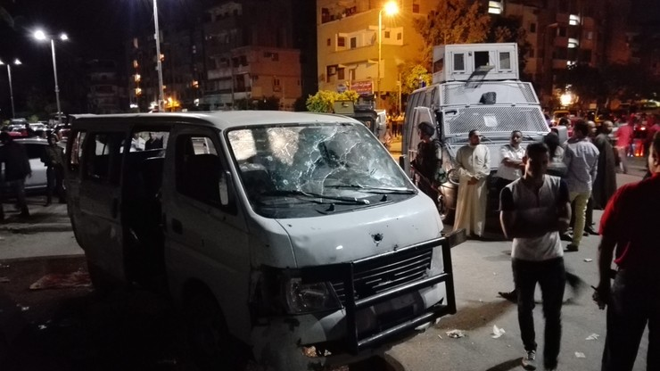 Zamach dżihadystów w Egipcie. Nie żyje ośmiu policjantów