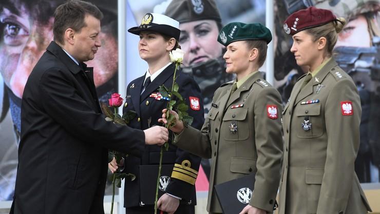 Spotkanie ministra obrony narodowej z kobietami w armii