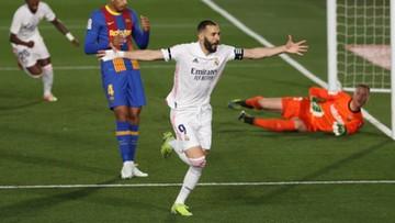 """REALny powrót na szczyt! """"Królewscy"""" lepsi od Barcelony w El Clasico"""