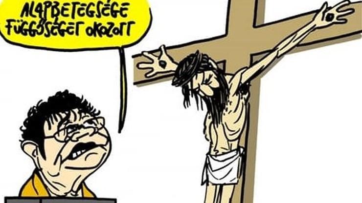 Karykatura Jezusa w węgierskim dzienniku. Sąd wydał wyrok