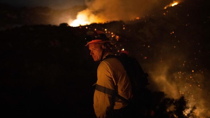 Podpalenie w Kalifornii? 540 strażaków walczy z pożarem