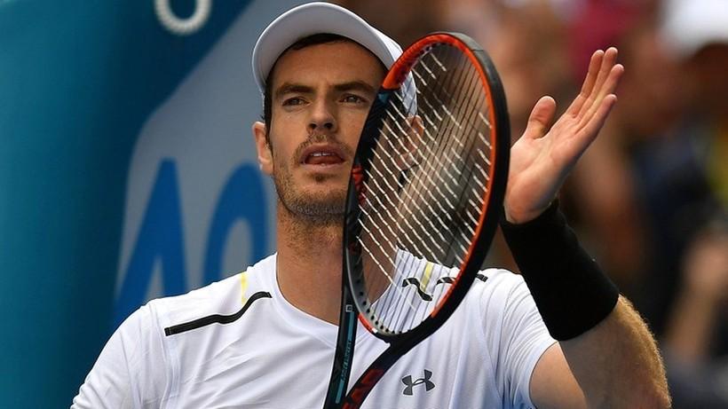 Gwiazda brytyjskiego tenisa na treningu Hurkacza