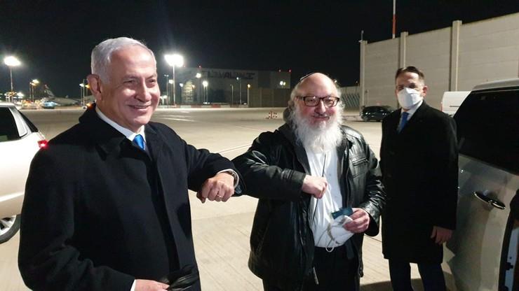 Były szpieg przyleciał do Izraela. Powitał go premier Netanjahu