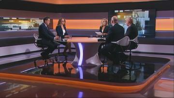 """""""Kamiński być może zbiera haki na pana Banasia"""". W """"Polityce na Ostro"""" o sprawie kamienicy szefa NIK"""