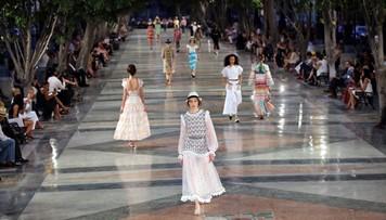 Pierwszy od czasów rewolucji pokaz mody w Hawanie. Zwykli mieszkańcy nie mieli wstępu