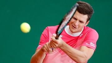 ATP w Halle: Przegrana Huberta Hurkacza w 1. rundzie