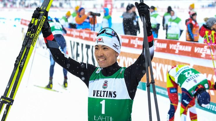 PŚ w kombinacji: Watabe wygrał zawody w Lahti, punkt Kupczaka