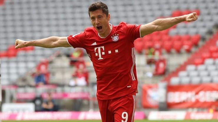 """Robert Lewandowski triumfuje w plebiscycie """"Kickera"""". Został najlepszym piłkarzem w Niemczech"""