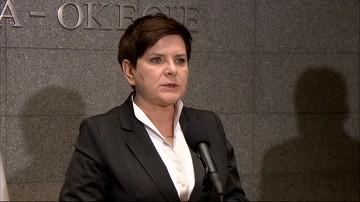 Sikorski: z tego, co wiem, premier próbowała podać się  do dymisji