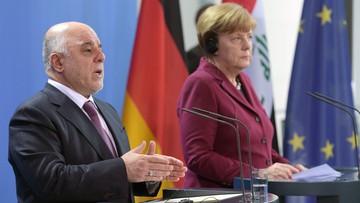 """Niemcy pożyczą Irakowi 500 mln euro na odbudowę infrastruktury. Merkel: """"chcemy ograniczyć napływ uchodźców"""""""