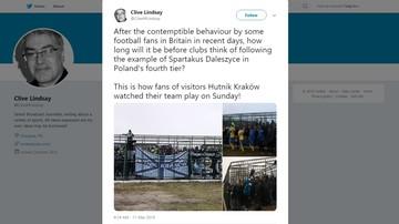 """""""Kuriozalna klatka"""" dla kibiców na stadionie w Daleszycach zostanie zdemontowana"""