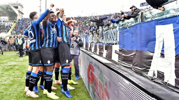Wyśmienita seria Interu Mediolan przerwana! Wysokie zwycięstwo Atalanty Bergamo