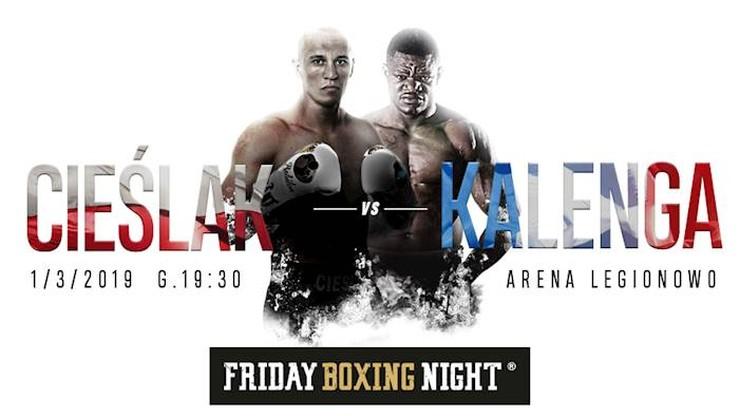 Friday Boxing Night: Cieślak - Kalenga. Transmisja w Polsacie Sport i Polsacie Sport Fight