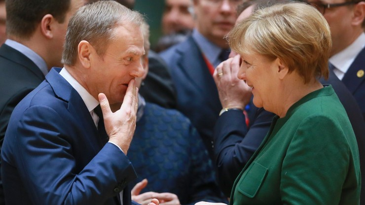 Merkel: Tuska wybrało 27 krajów, z których tylko jeden był Niemcami